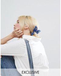 Monki - Bandana Hair Bobble - Lyst