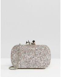Coast - Bijou Glitter Box Bag - Lyst
