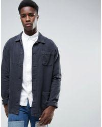 WÅVEN - Vintage Black Shirt Jacket - Lyst