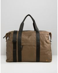 Farah - Canvas Carryall Stone - Lyst