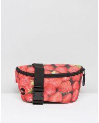 Mi-Pac - Mi Pac Classic Bum Bag In Strawberry Print - Lyst