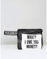 Pull&Bear - What I Owe You Bag - Lyst