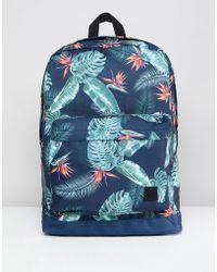 Jack & Jones - Printed Backpack - Lyst
