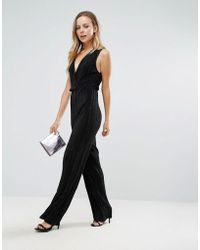 Wal-G - Wide Leg Jumpsuit - Lyst