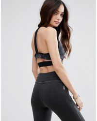Abercrombie & Fitch - Mesh Racer Back Bralet - Lyst