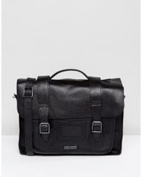 Dr. Martens - 15 Leather Satchel Black - Lyst