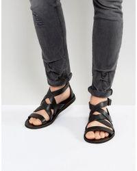 AllSaints Atlas Leather Sandal Y0GIQYf