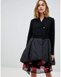 Vero Moda - Tailored Swing Coat - Lyst