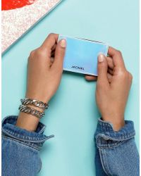 Monki - Holographic Card Case - Lyst