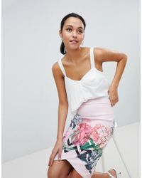 Ted Baker - Palace Gardens Pencil Skirt - Lyst