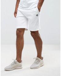 Criminal Damage - Slim Fit Drawstring Shorts - Lyst