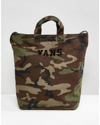 Vans - Camo Ditch Day Tote - Lyst