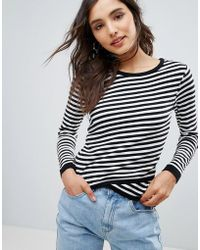 Oeuvre - Stripe Top - Lyst