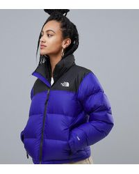 The North Face - Womens 1996 Retro Nuptse Jacket In Blue - Lyst