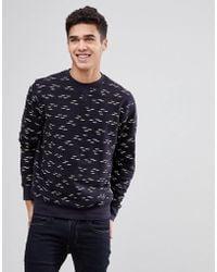 Bellfield | Palm Printed Sweatshirt | Lyst