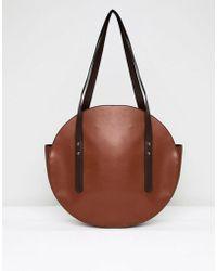 ASOS - Circle Shopper Bag With Hardware Detail - Lyst