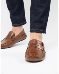 Red Tape - Driving Shoes In Tan - Lyst