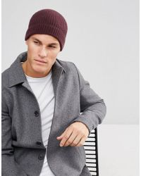 26ad5532ce8 Herschel Supply Co. Buoy Fisherman Beanie In Burgundy in Red for Men ...