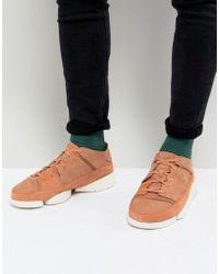 Clarks - Trigenic Evo Suede Sneakers - Lyst