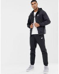Nike Ensemble de survêtement tissé - Noir 928119-010
