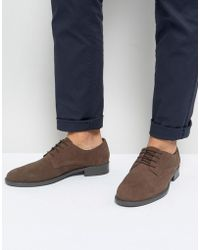 Frank Wright - Lace Up In Brown Waxed - Lyst
