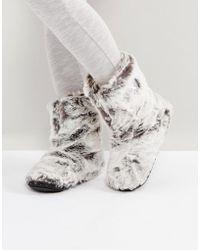 Bedroom Athletics | Cole Lux Short Faux Fur Boot | Lyst