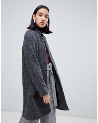 SELECTED - Femme Wool Midi Length Coat - Lyst