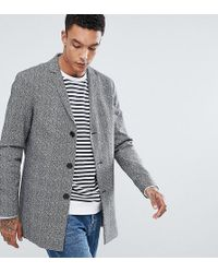 Noak - Salt N Pepper Jacquard Coat - Lyst