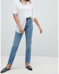 Vero Moda - Stirrip Straight Leg Jeans - Lyst