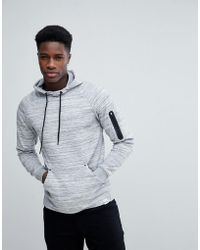Only & Sons - Hoodie With Technical Arm Pocket - Lyst