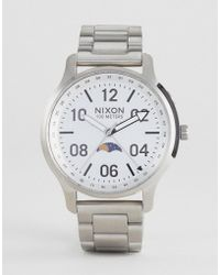 Nixon - A1208 Ascender Bracelet Watch In Silver - Lyst