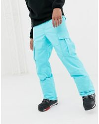 Billabong - Transport Snow Trousers In Blue - Lyst