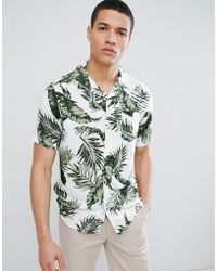 Only & Sons - Tropical Short Sleeve Shirt - Lyst
