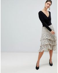 Y.A.S - Sachecky Layered Skirt - Lyst