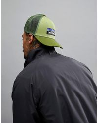 Patagonia - P-6 Logo Trucker Cap In Green - Lyst
