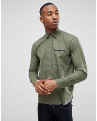 Bolongaro Trevor - Tape Pocket Shirt - Lyst