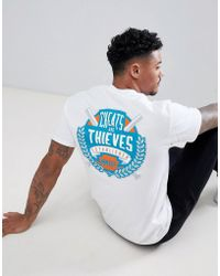 Cheats & Thieves - Established Back Print T-shirt - Lyst