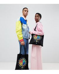 ASOS - Design X Glaad& Tote Bag With Print - Lyst