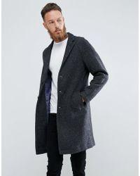 Mango - Man Overcoat In Grey - Lyst