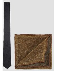 ASOS - Tie And Sparkly Pocket Square Set - Lyst