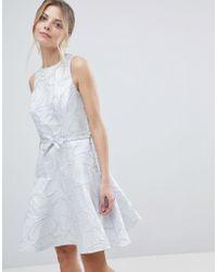 Coast - Francesca Metallic Slater Dress - Lyst