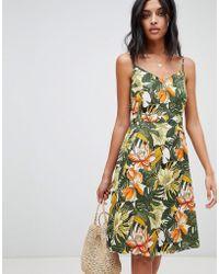 Warehouse - Toucan Cami Dress - Lyst