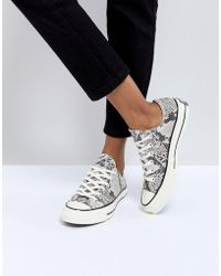 Converse - Chuck Taylor All Star '70 Trainers In Snake Print - Lyst