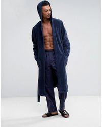 Calvin Klein | Dressing Gown In Terry | Lyst