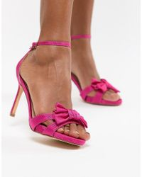 Coast - Bow Sandal Heel Shoes - Lyst