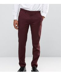 Only & Sons - Skinny Suit Trousers In Marl - Lyst