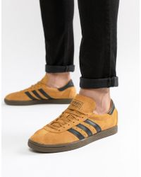 best service f5dae fae0d adidas Originals - Tobacco Sneakers In Yellow Cq2761 - Lyst