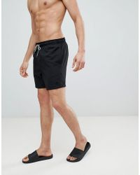 New Look - Swim Shorts In Black - Lyst