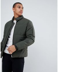 SELECTED - Puffer Jacket - Lyst