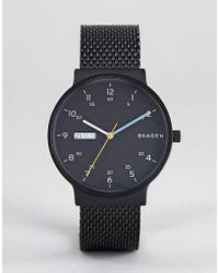 Skagen - Skw6456 Ancher Watch With Mesh Strap - Lyst